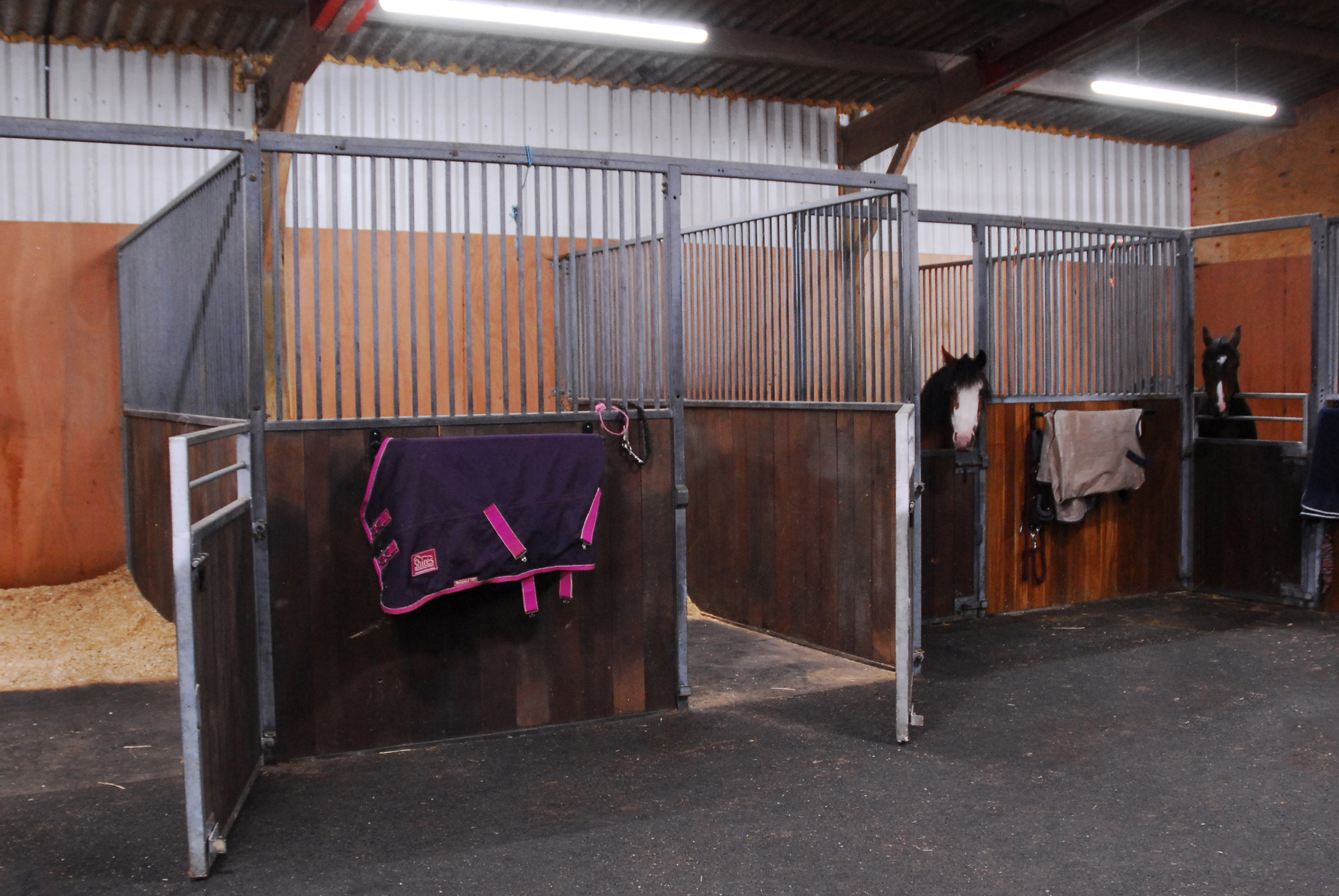 Smaller stables